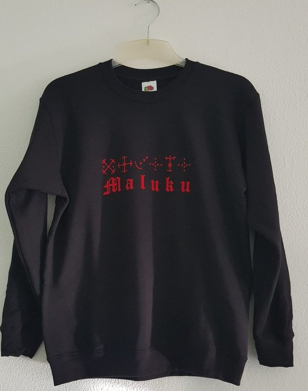 Sweater Maluku in Alifuru tekens