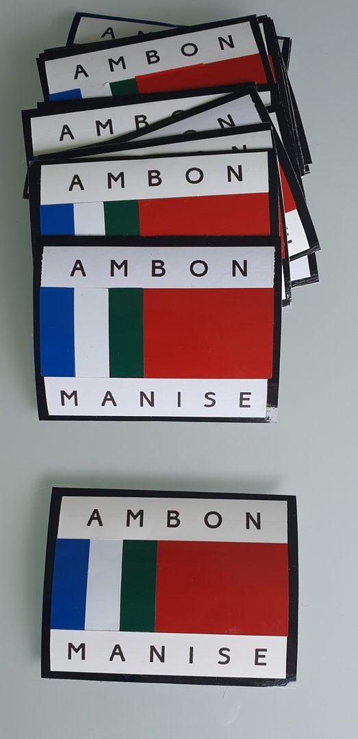Stickers - Ambon Manise