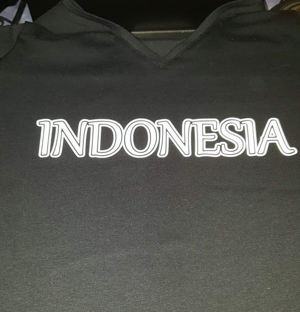 T-shirt Indonesia
