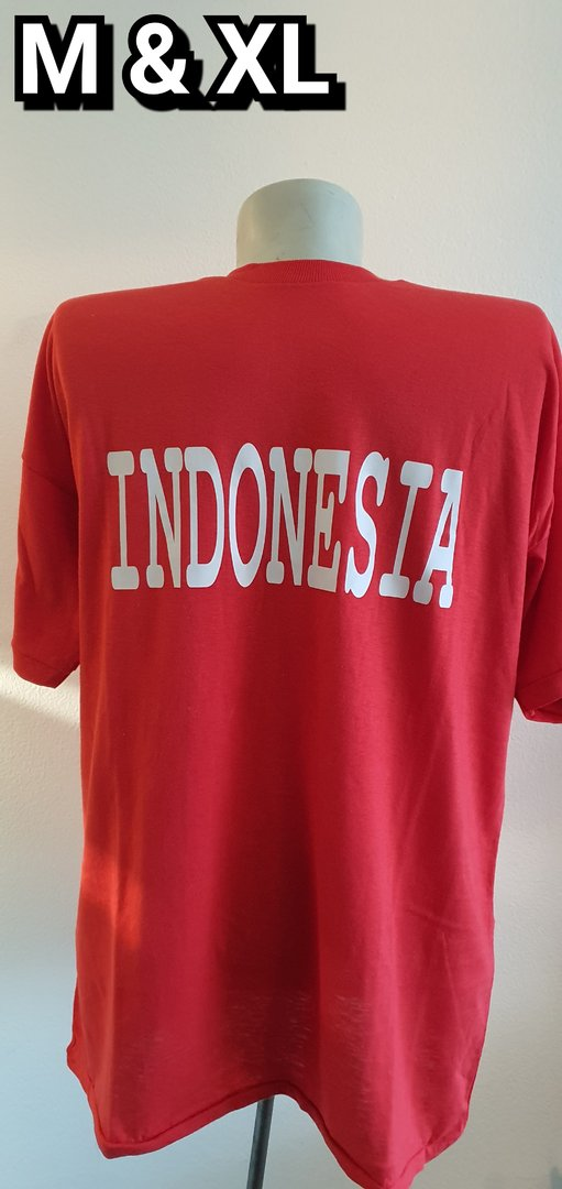 Indonesia M & XL